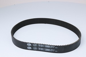 "BDL-138-38K 8MM X 138 TOOTH X 38 MM WIDE, (38mm = 1-1/2"") PRIMARY BELT"