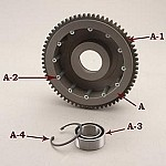 EV-460 68T W/BEARING AND GEAR FOR EVB-3T
