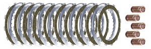VRXP-7 V-ROD 2002 -2008 EXTRA PLATE KIT 10 FRICTIONS, 9 STEELS W/ 5 COIL SPRINGS