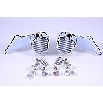 GMA-200DDC CHROME FRONT DUAL DISC 1949-84 FL, CUSTOM KIT 10