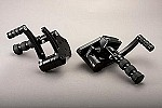GMA-FC-100-B BLACK FORWARD CONTROLS FOR SOFTAIL 1986-1999
