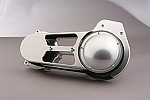 EVO-8SCA OPEN BELT DRIVE FOR 2007-UP SOFTAIL AND 2006-UP DYNA 69MM CLEAR ANO W/ BDL-142-69 BELT