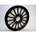 RP-XVIB-65112 SPOKE BLACK CUSTOM REAR PULLEY